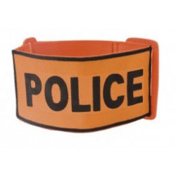Brassard Orange Police / Douane / Sécurité